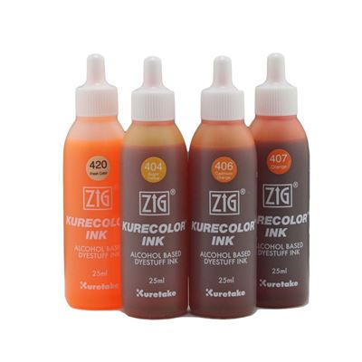 ZIG® Kuretake Kurecolor Dyestuff Ink Refill
