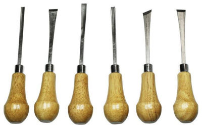 Palm Style Deluxe Wood Carving Set 56010
