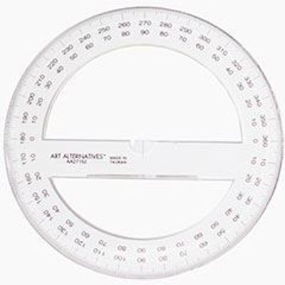 aa-art-alternatives-360-circle-protractor-clear