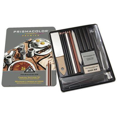 Prismacolor Charcoal Pencil 24 Set