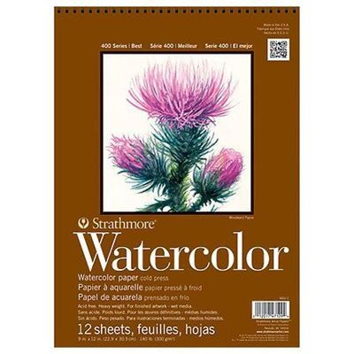 Strathmore 400 Series Watercolor Spiral