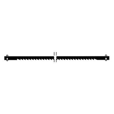 PX28742  Proxxon Scroll Saw Blades For Dsh, Fine Pin End Blades (18 Tpi), 6 Pcs.