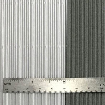 Corrugated Sheets and Ruler