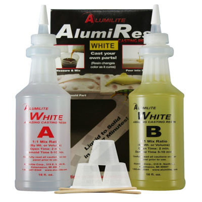 AU10020 Alumilite White 32oz Kit