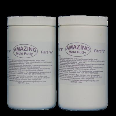 AU20203  Alumilite Amazing Mold Putty Kit 3lb