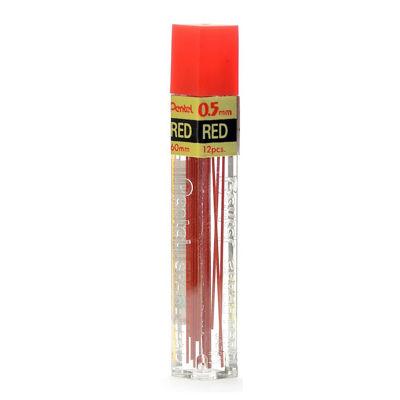 Pentel Refill Lead 0.5mm Red