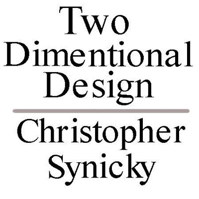 Picture of Two Dimentional Design:  Christopher Synicky