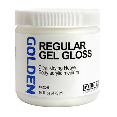 Picture of Golden Regular Gel