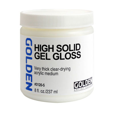 Picture of Golden High Solid Gel