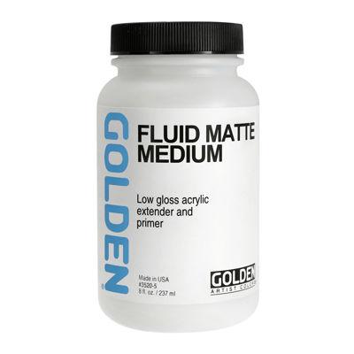 Picture of Golden Fluid Matte Medium