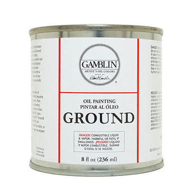 Picture of Gamblin Oil Painting Ground