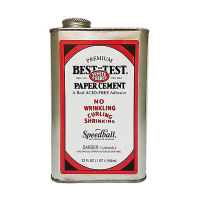 Picture of Best-Test  RUBBER PAPER CEMENT